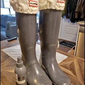 Tall hunter boot combo lot